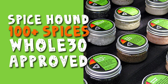 Whole 30 Approved Spices