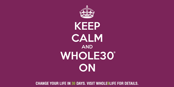 Alyssactndg Keep Calm Eat Fried Chicken: Keep Calm And Whole30® On