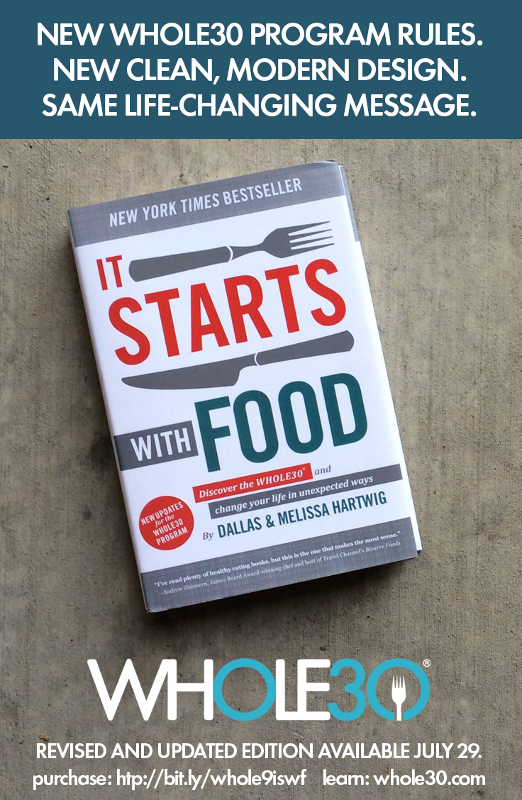 It Starts With Food Gets A Makeover The Whole30 174 Program