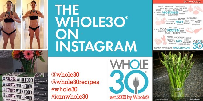 Get whole30 support on instagram