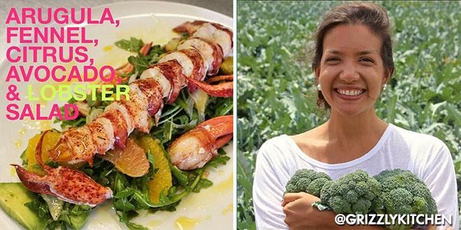 Arugula Lobster Salad F