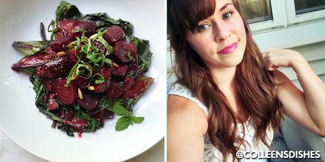 Warm Beet Salad F