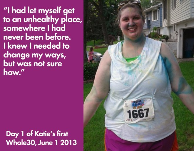 Whole30 and weight loss katie k s story the whole30 174 program