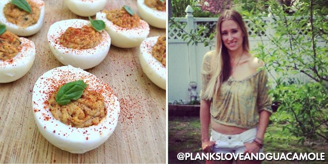 F Deviled Eggs