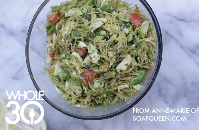 Brussels Sprouts Salad 1a