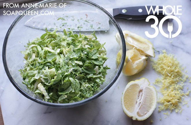 Brussels Sprouts Salad 1b