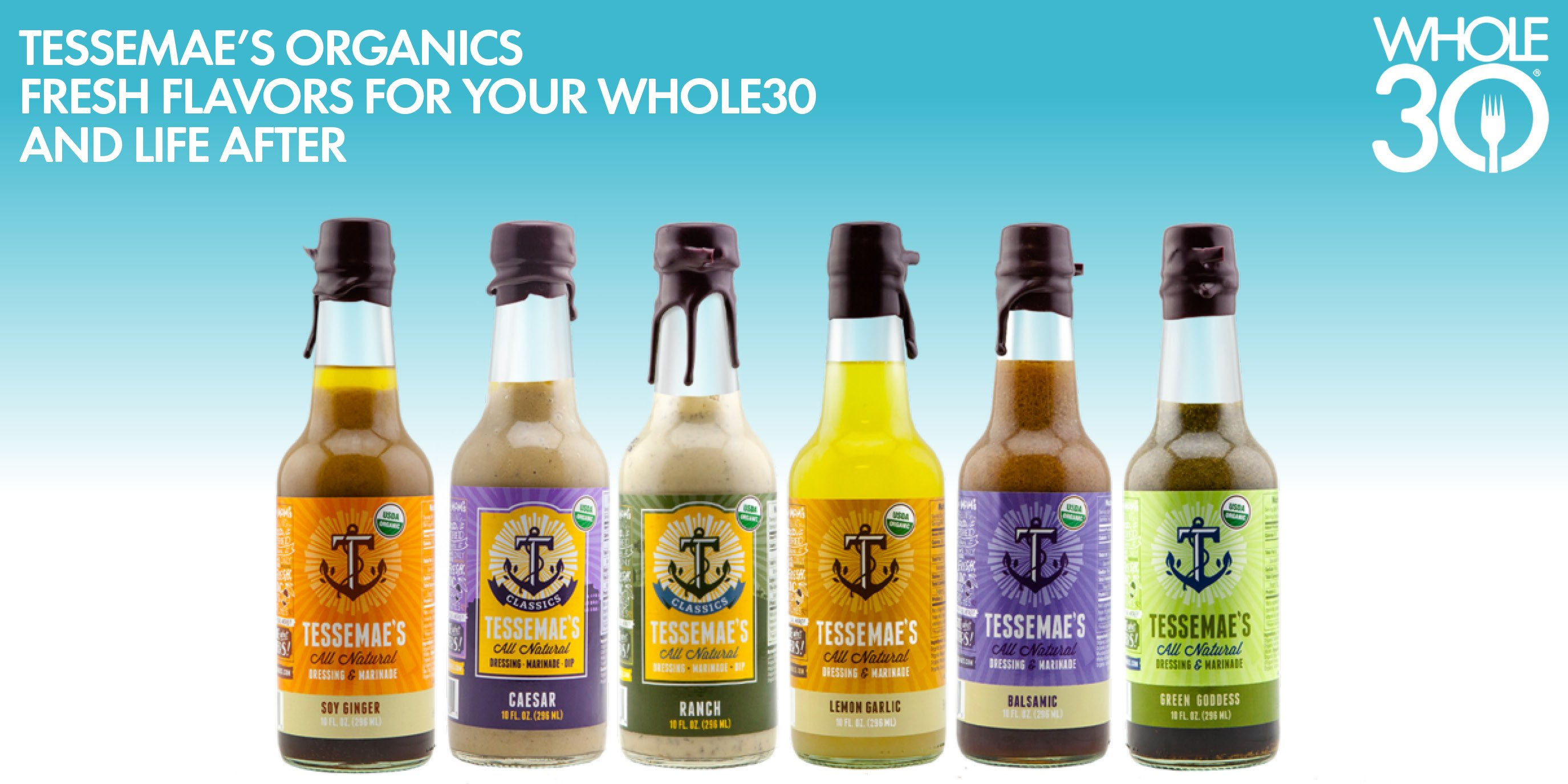 Going Organic: A Whole30 Q&A with Tessemae's