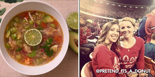 F Chicken and Lime Posole