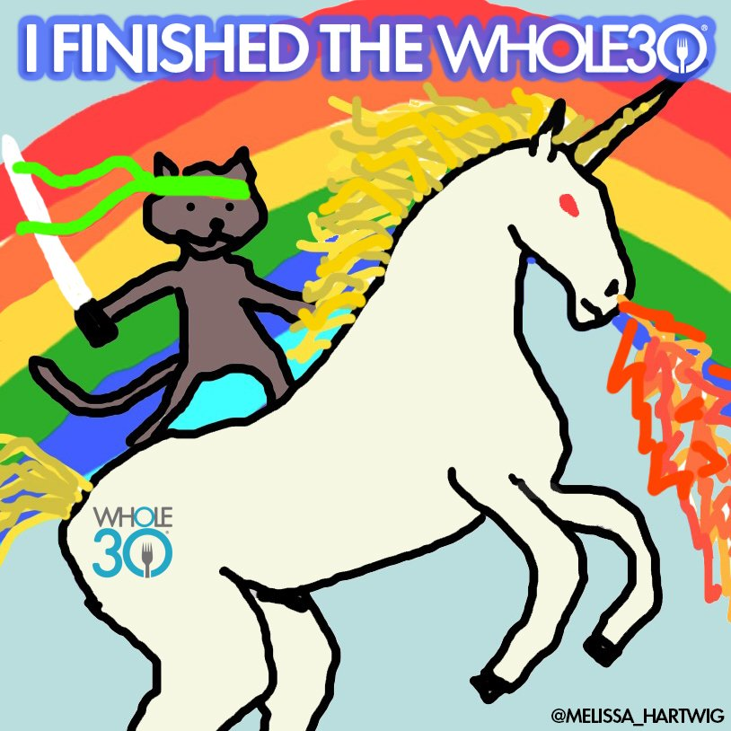 Image result for i finished the whole30