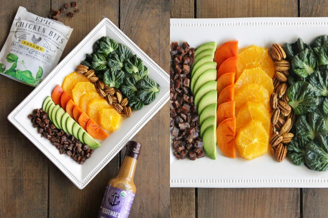 JanuaryWhole30 Epic Winter Salad CItrus