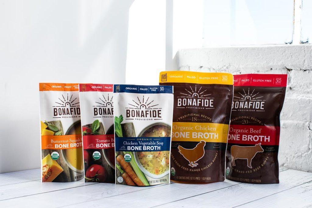 Assortment of Bonafide Provisions bone broth