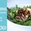 Whole30 Summer Meals (Part 3): Grilled Over Greens with Maria Makes