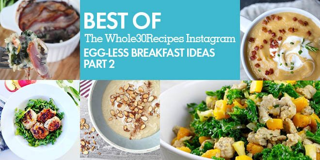 Eggless Breakfast Recipes 2 Header