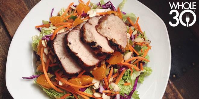 Grilled Over Greens Pork 2