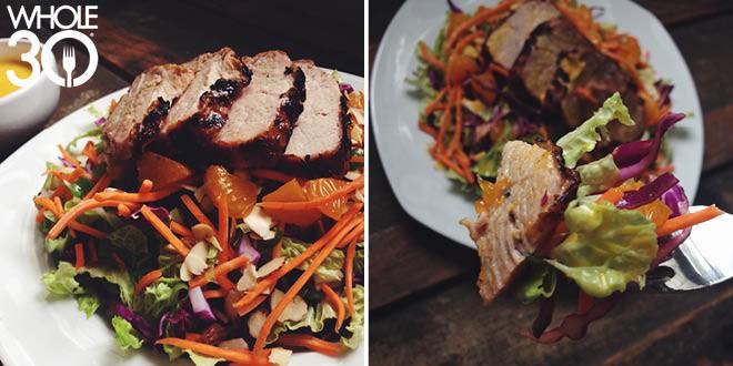 Grilled Over Greens Pork