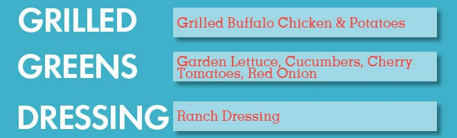Grilled Over Greens Info Graphic 4