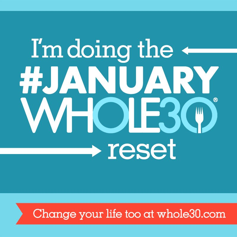 graphic about Whole 30 Calendar Printable titled Your Exceptional #JanuaryWhole30 Proportion Graphics and Printable