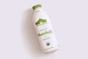 New Barn Unsweetened Organic Almondmilk