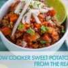 #JanuaryWhole30 Recipe: Slow Cooker Sweet Potato Bison Chili