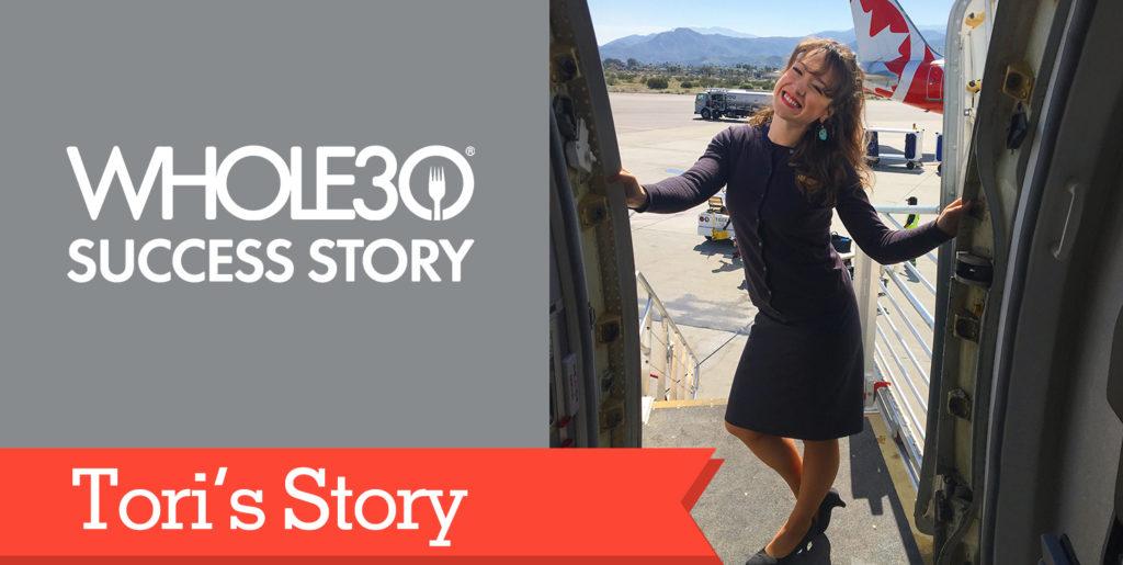 Tori's Story Header