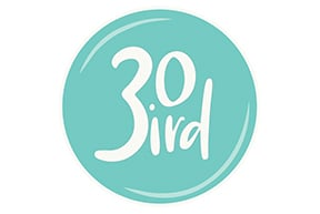 30 Bird logo