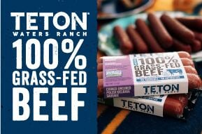 Teton Waters Ranch Beef advertisement