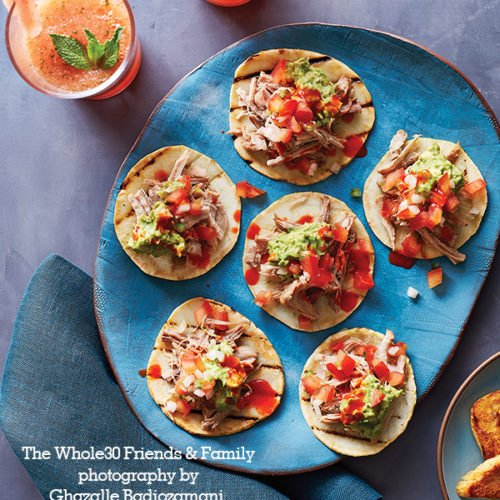 The Whole30 Friends & Family Cookbook Pork Carnitas Tacos