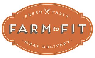 Farm to Fit orange logo