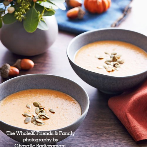 Whole30 Roasted Red Pepper Soup