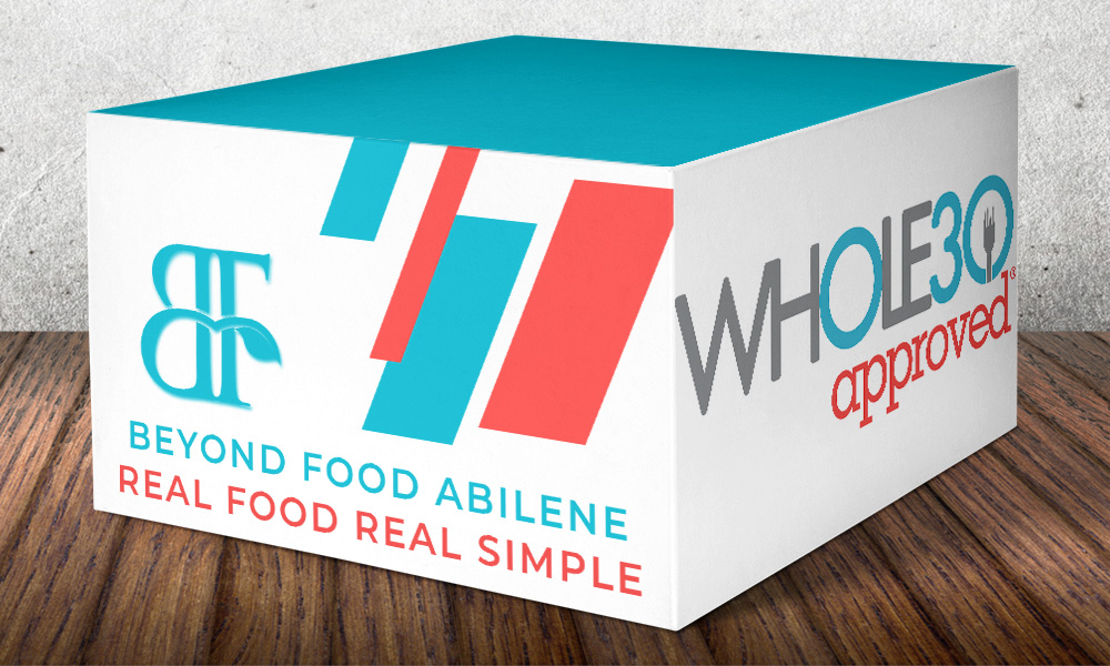 Beyond Food Company Whole30 Approved advertisement