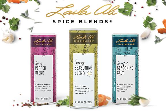Assorted Laila Ali Blends- pepper blend, seasoning blend, seasoning salt
