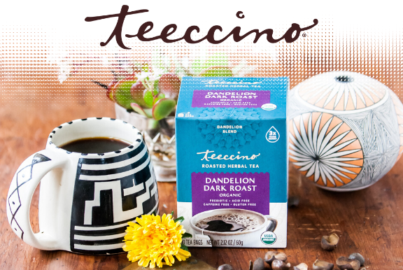 teecino logo and products
