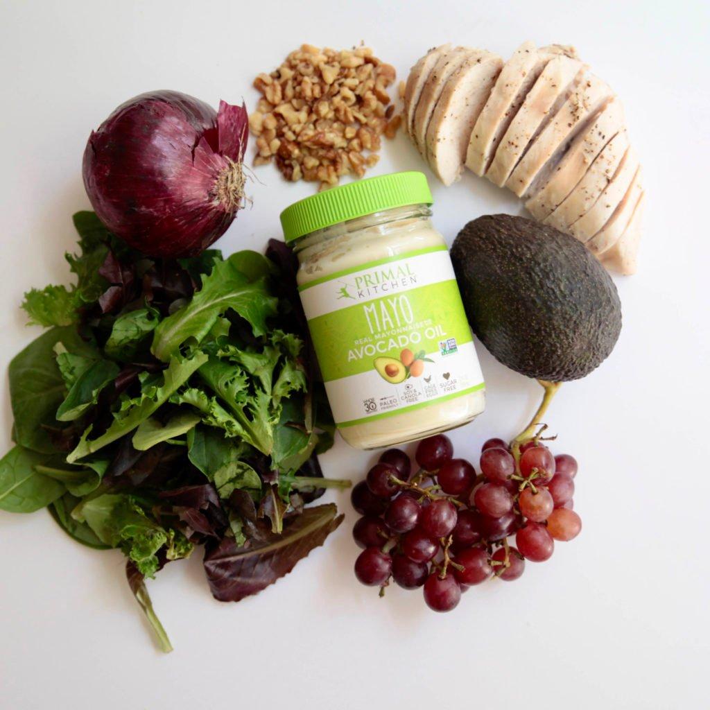 5 ingredient chicken salad