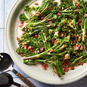 Secret Sauce Whole30 Broccolini SQUARE
