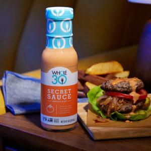 Secret Sauce Whole30 Two Patty Burger SQUARE