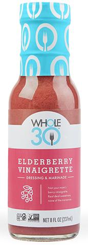 Whole30 Elderberry Vinaigrette Product Shot Lander