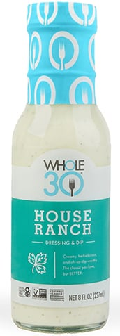 Whole30 House Ranch Product Shot Lander