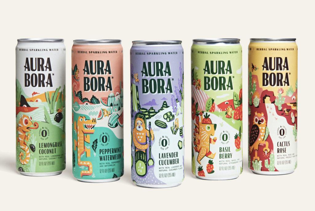 Aura Bora Sparkling Water