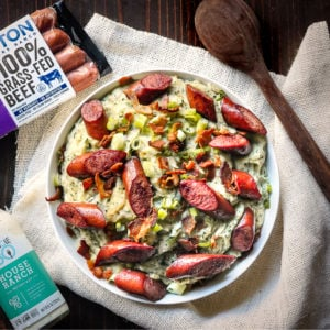 bacon ranch kale potato mash