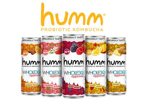 Whole30 Approved Humm Kombucha