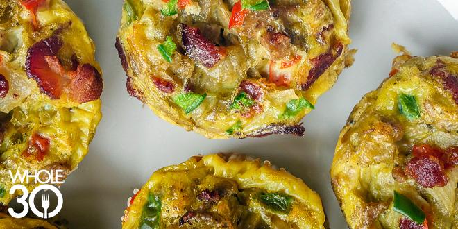 Potato sausage egg muffins