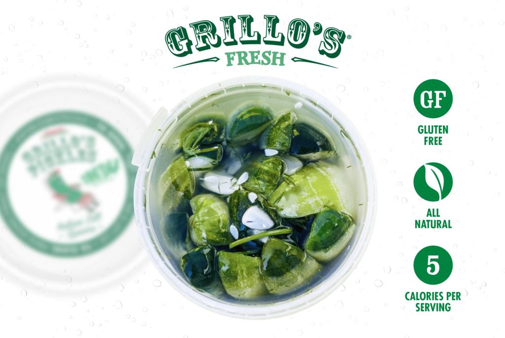 Grillo's Pickles Ad