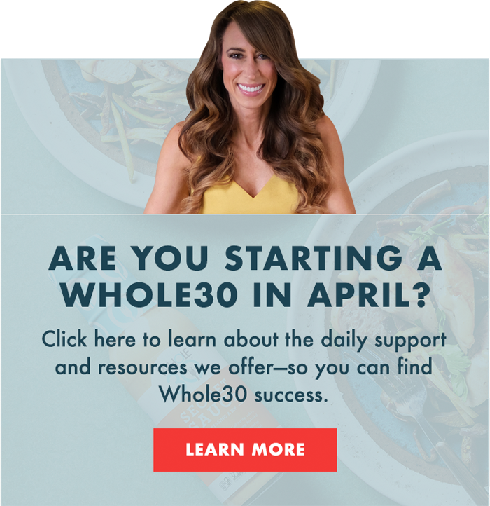 Group Whole30 Banner - Mobile