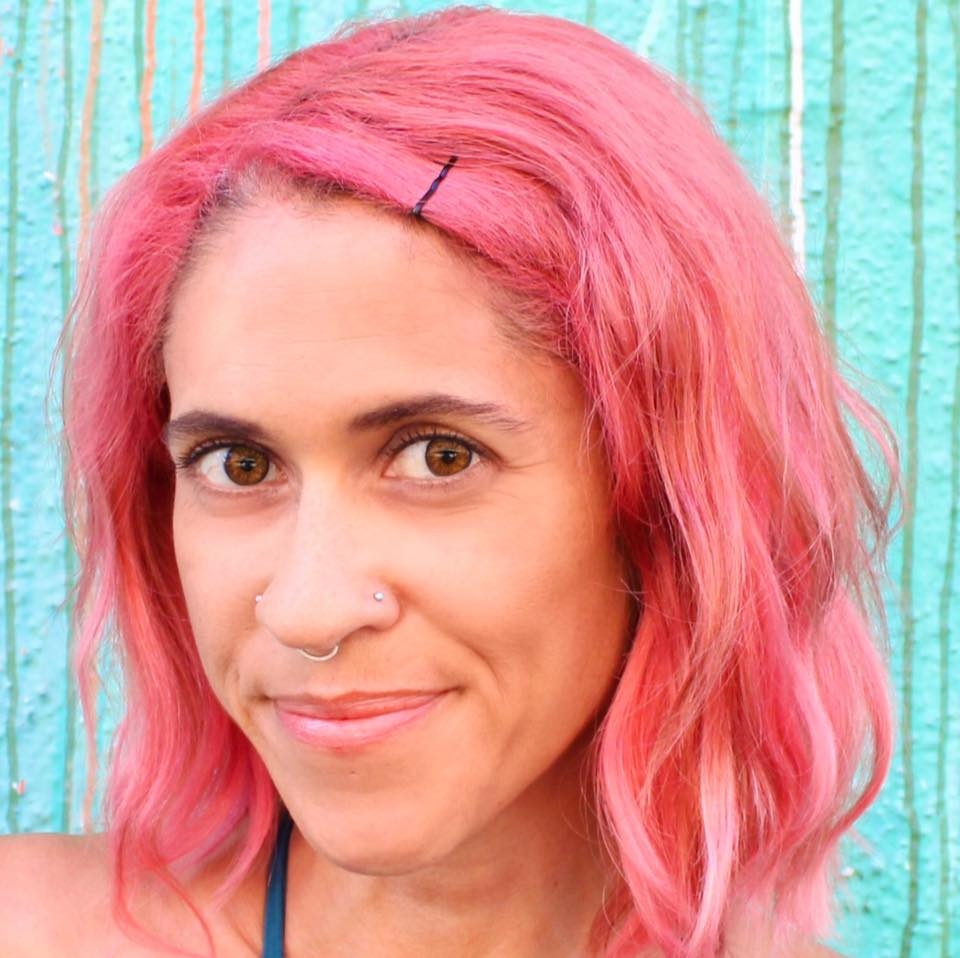 Ariane Resnick, CNC Pink Hair Chef