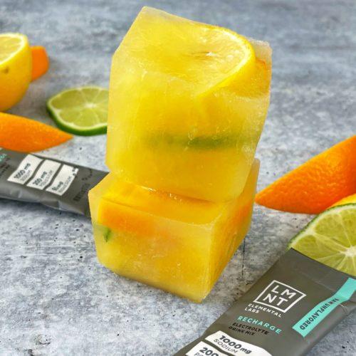 Whole30 LMNT Pineapple Citrus Ice Cubes