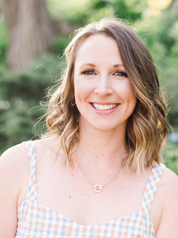 Stephanie Greunke smiling at the camera
