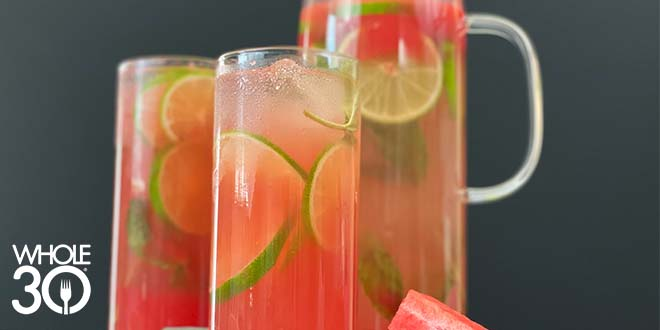 Whole30 LMNT Watermelon Refresher