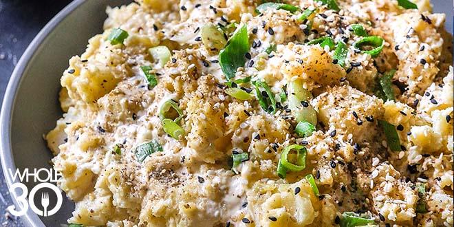 Sesame Potato Salad