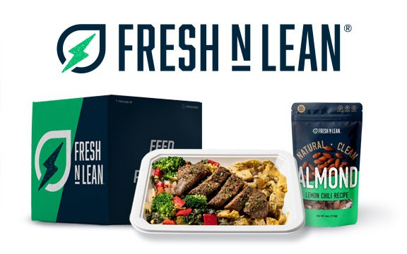 Fresh N' Lean Meal with almonds
